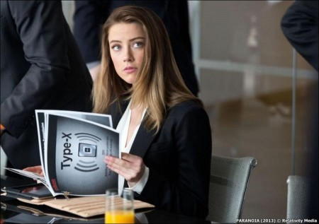 Paranoia Movie - Amber Heard