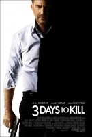 Three Days to Kill Movie Poster