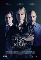 Before I Go to Sleep Movie Poster