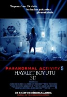 Paranormal Activity 5: Hayalet Boyutu Afişi