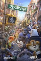 Zootopiia Movie Poster