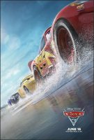 Cars 3 Movie Poster (2017)