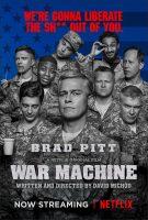 War Machine Movie Poster (2017)