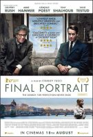 Final Portrait Movie Poster (2018)