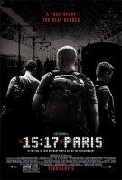 The 15:17 to Paris Movie Poster (2018)